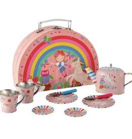 Floss & Rock Tea Set Rainbow Fairy 10pc
