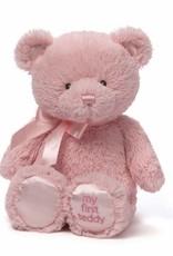 Gund First Bear Pink