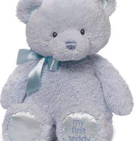 Gund Bear First Blue