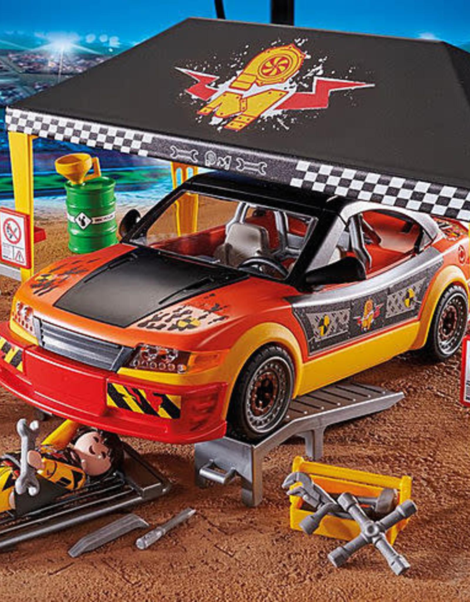 Playmobil PM Stunt Show Service Tent