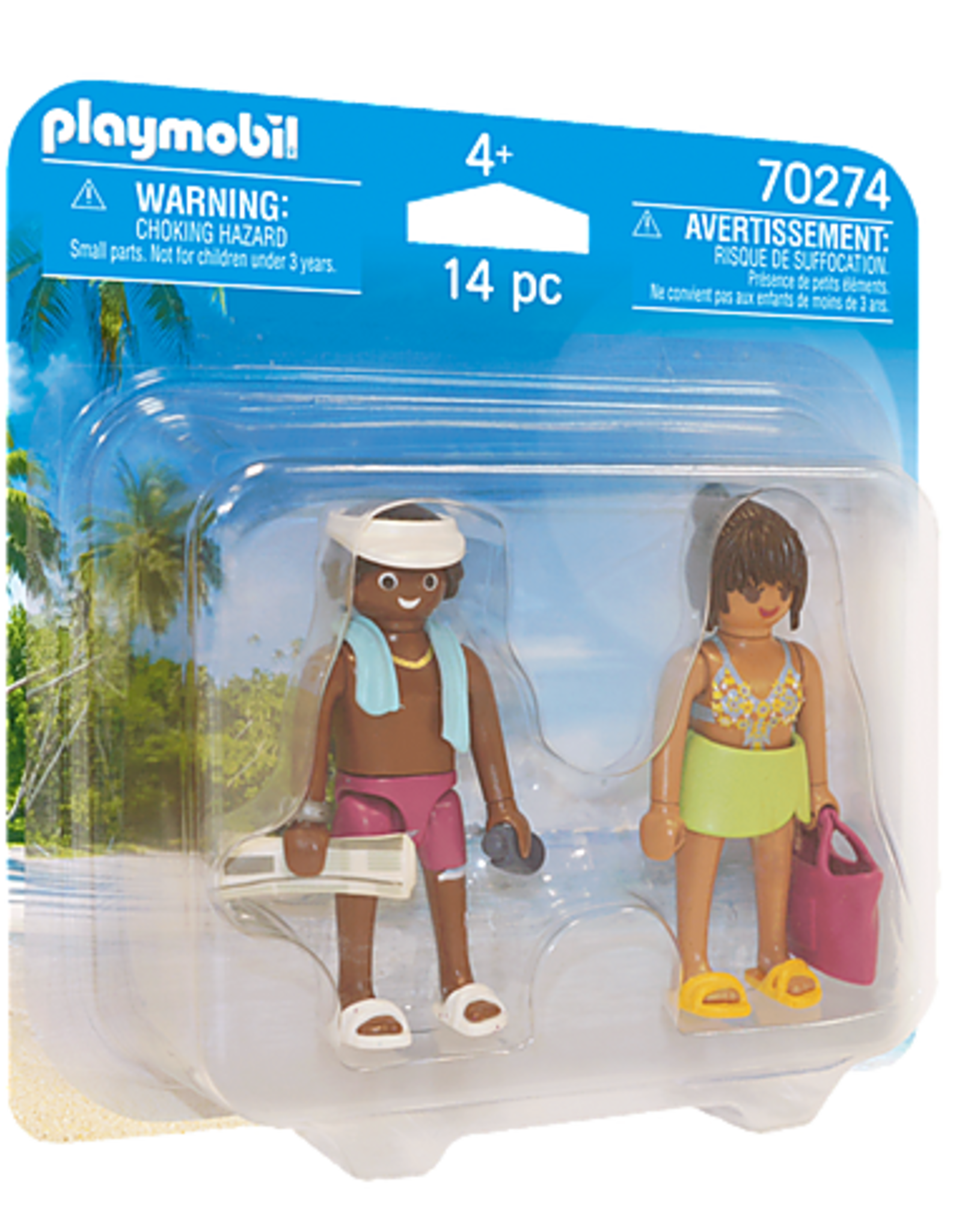 Playmobil PM DuoPack Vacation Couple