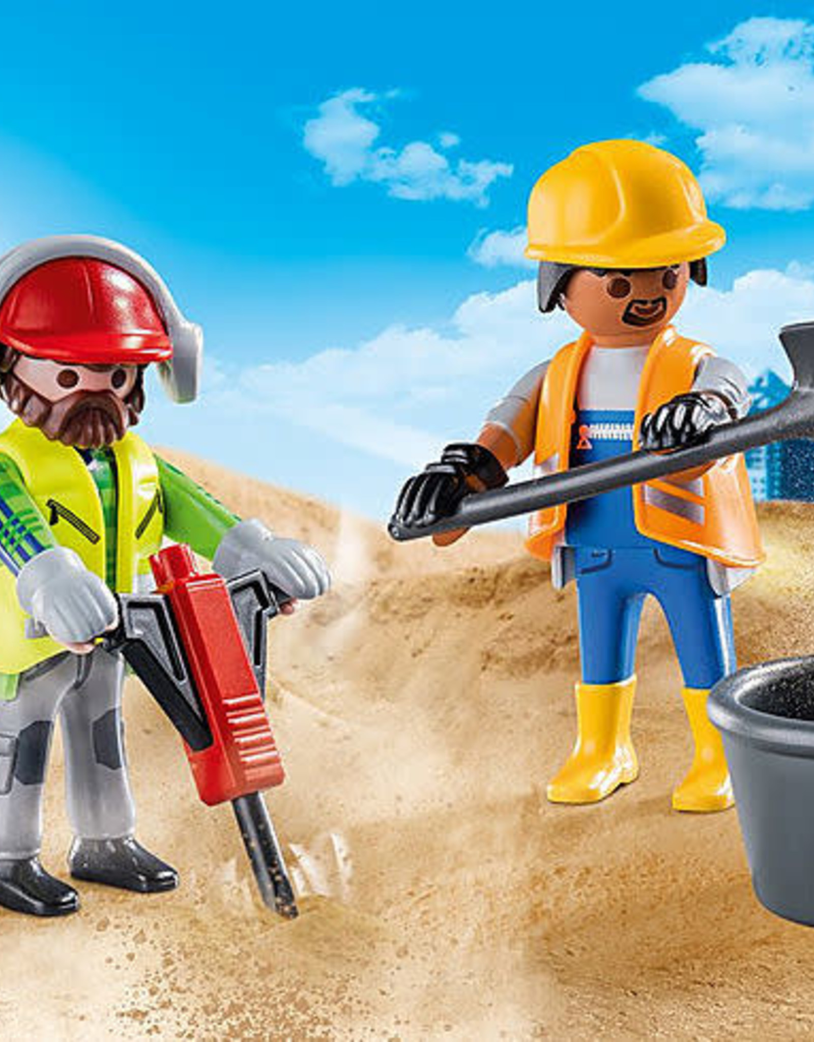 Playmobil PM DuoPack Construction Workers