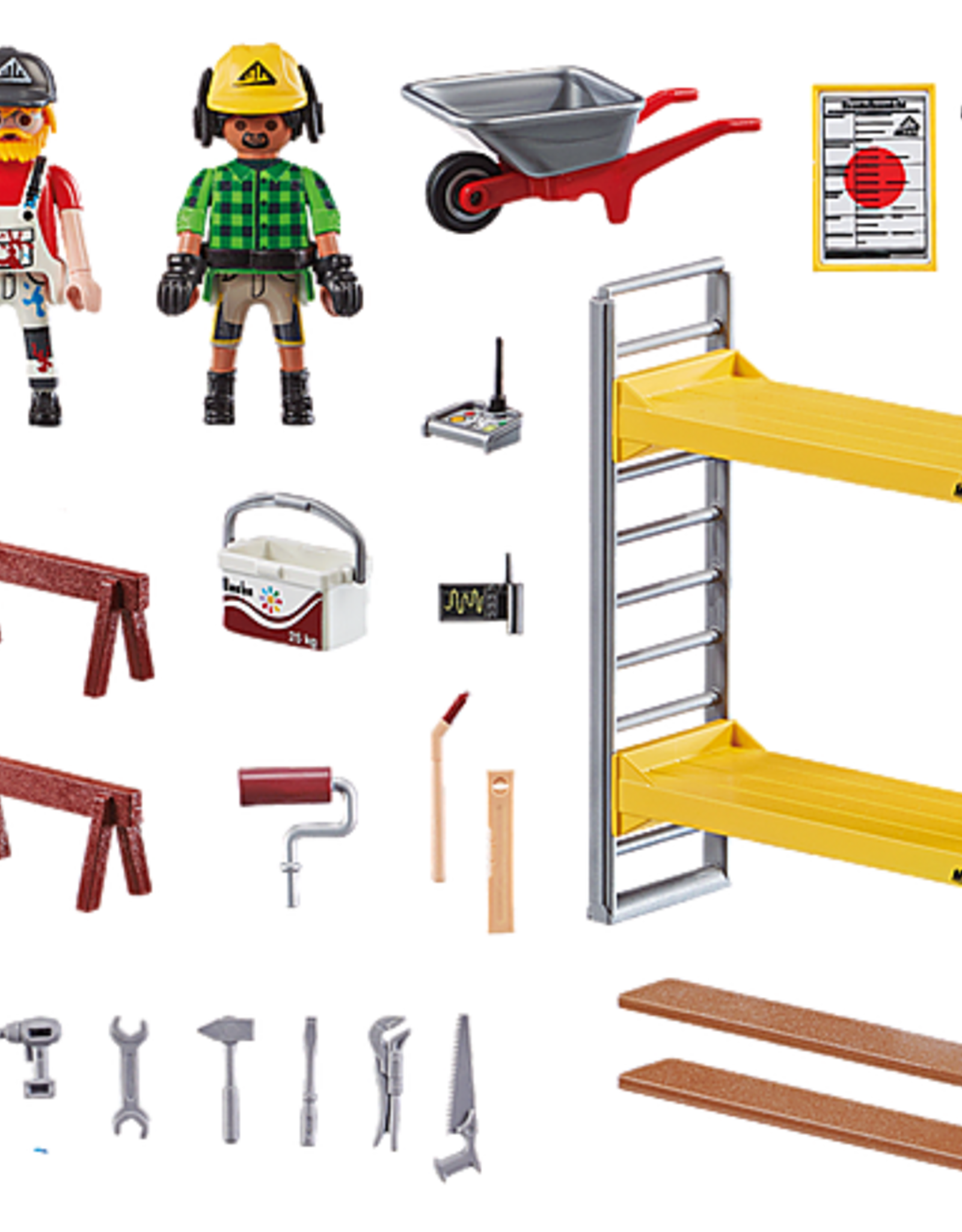 Playmobil PM Scaffolding with Workers
