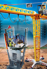 Playmobil PM RC Crane with Building Section
