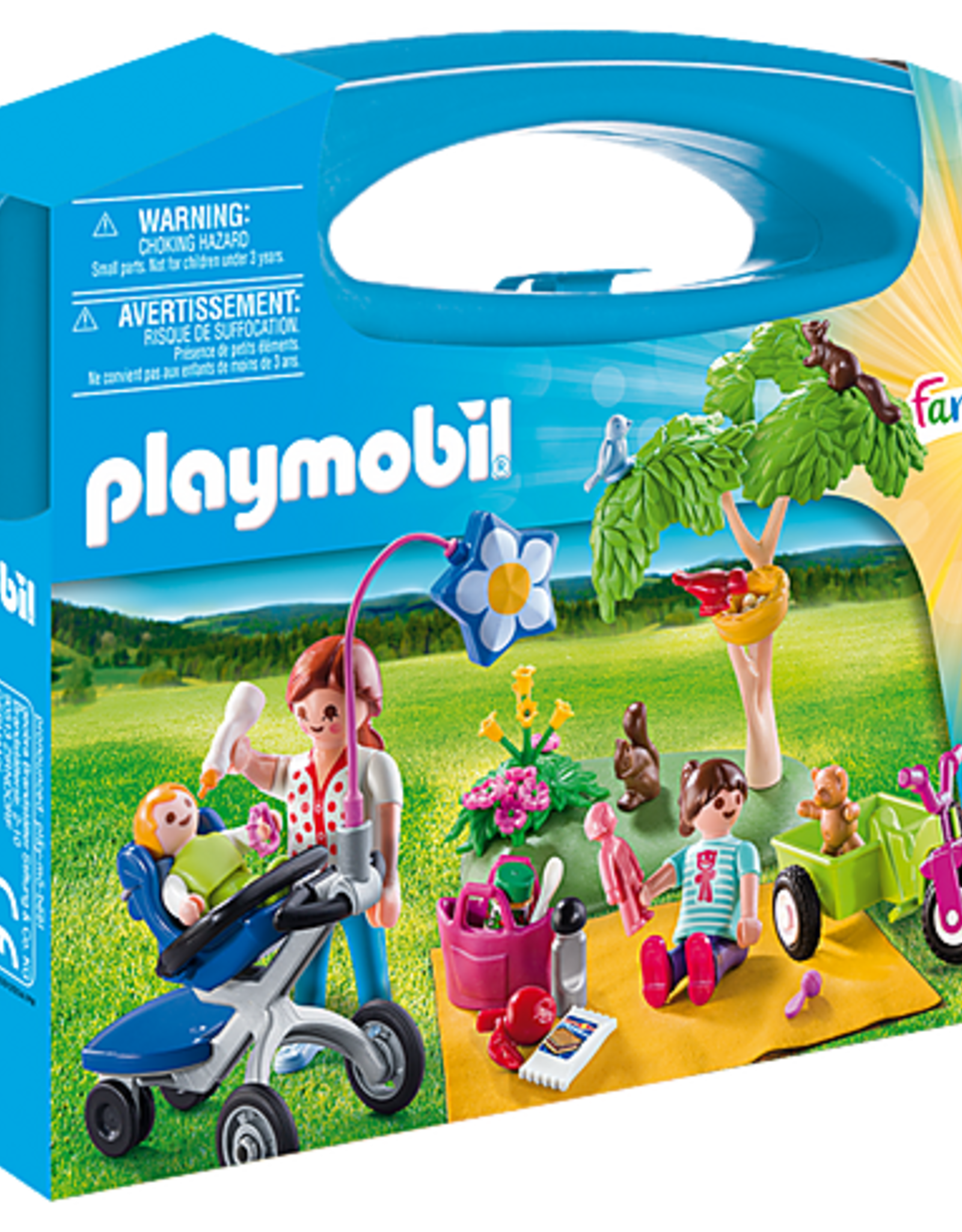 Playmobil PM Carry Case Family Picnic