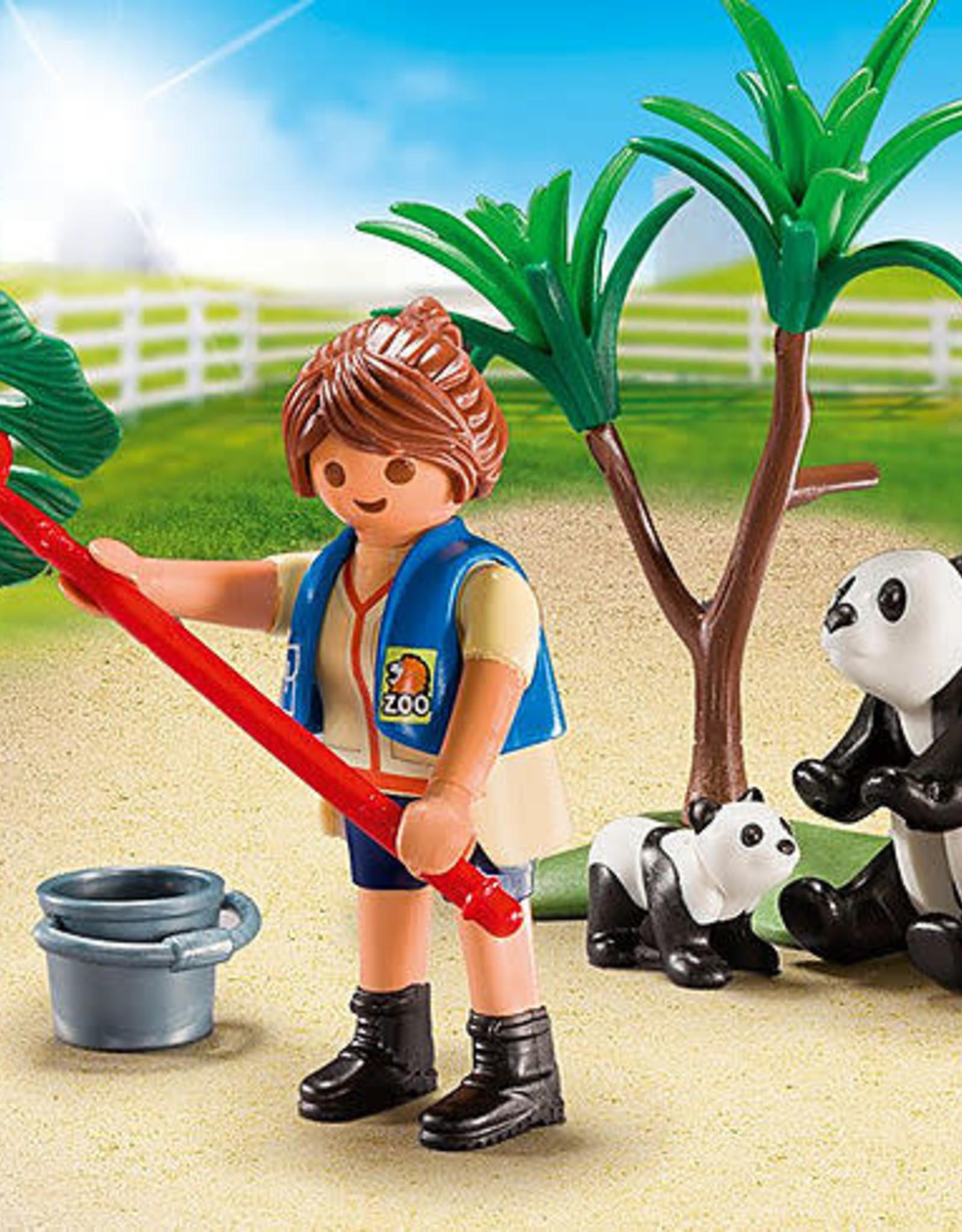 Playmobil PM Carry Case Panda Caretaker