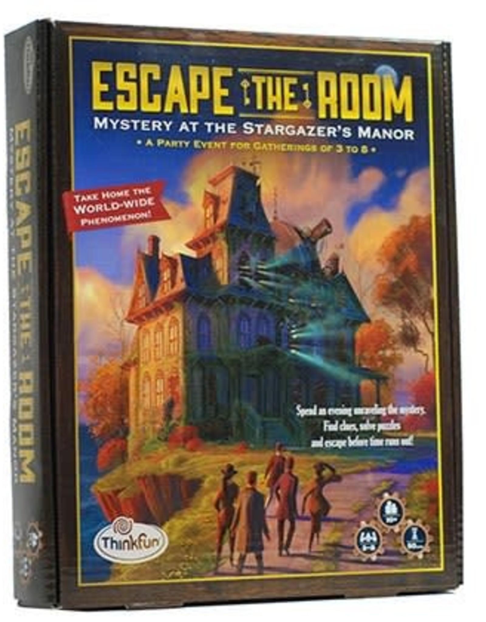 ThinkFun Escape Room Mystery at Stargazer's