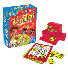 ThinkFun Zingo Bingo with a Zing 4+