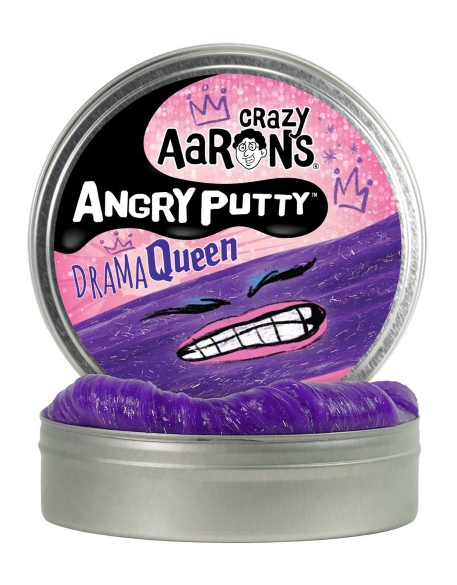 Crazy Aarons Putty Angry Drama Queen