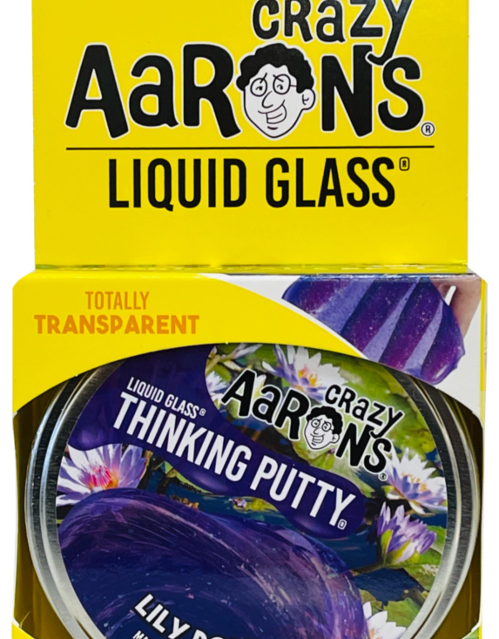 Crazy Aarons Putty Liquid Glass Lily Pond Purple