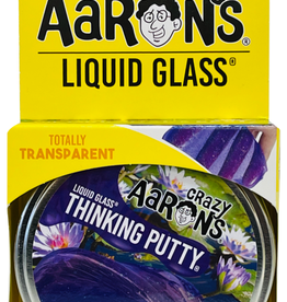 Crazy Aarons Putty Liquid Glass Lily Pond Purple