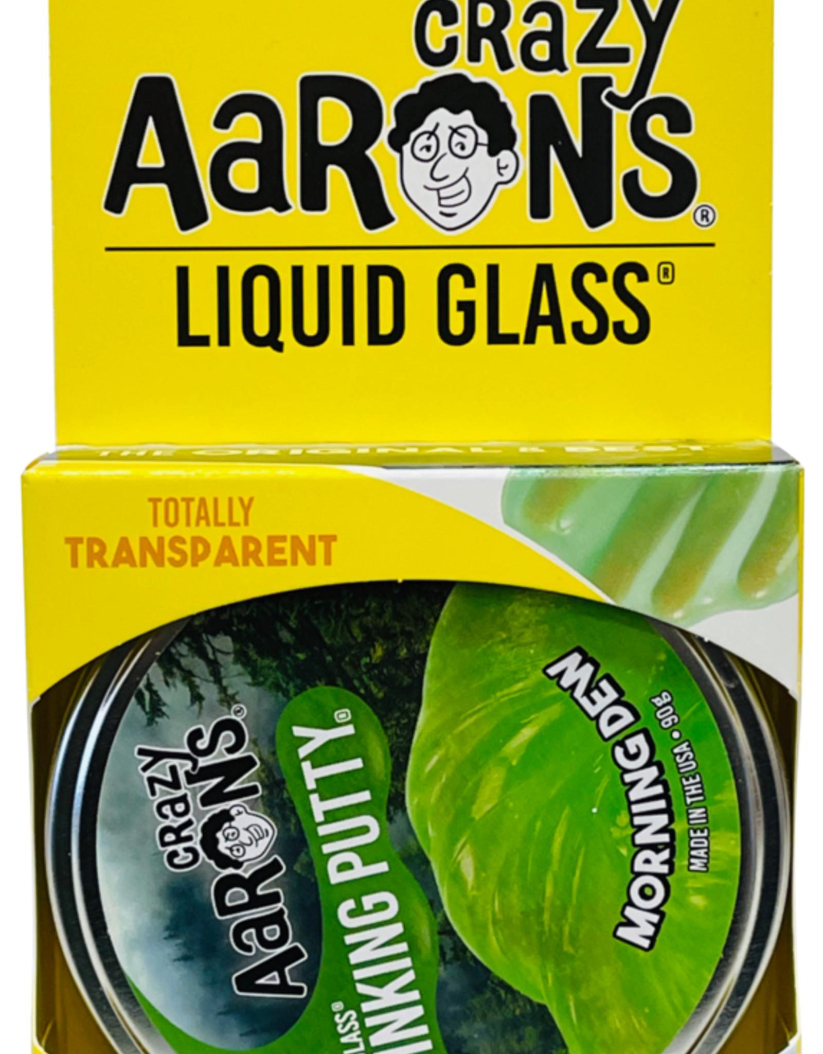 Crazy Aarons Putty Liquid Glass Morning Dew Green