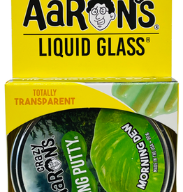 Crazy Aarons Putty Liquid Glass Morning Dew Green