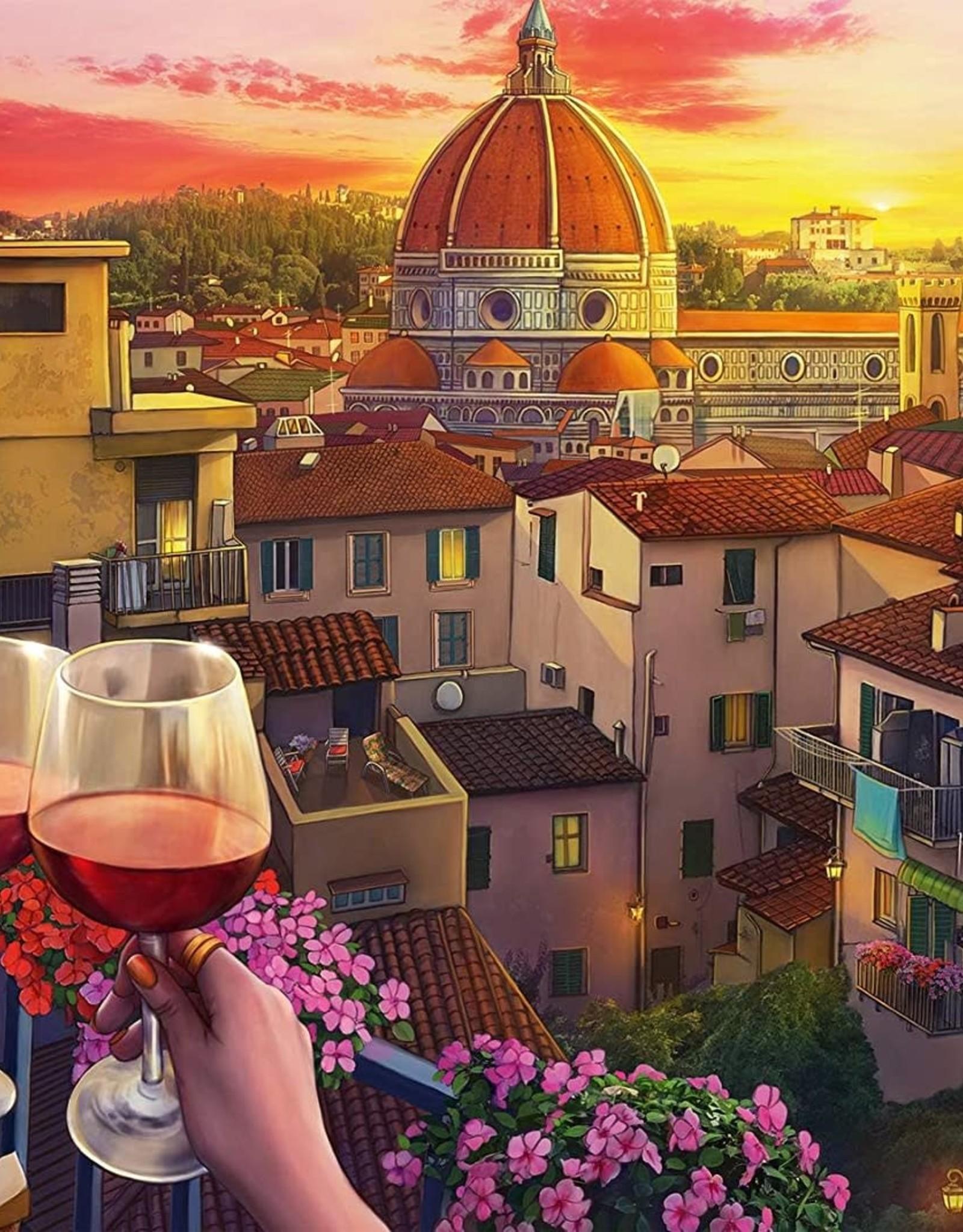 Ravensburger 500pc Cozy Wine Terrace LG