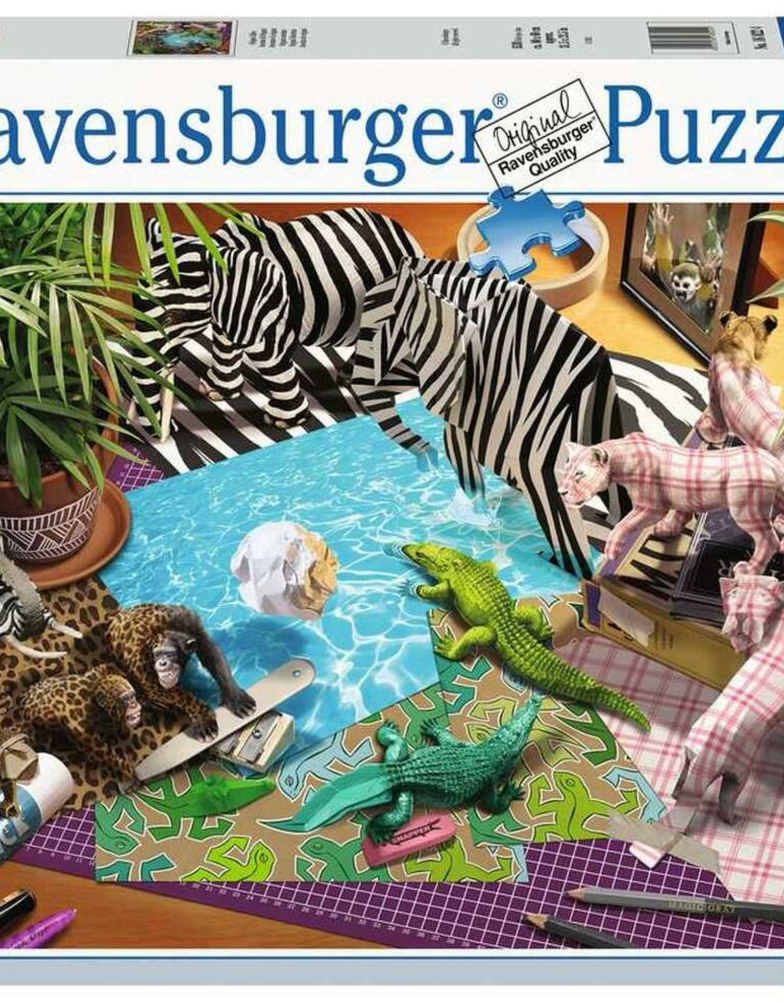Ravensburger 1500pc Origami Adventure