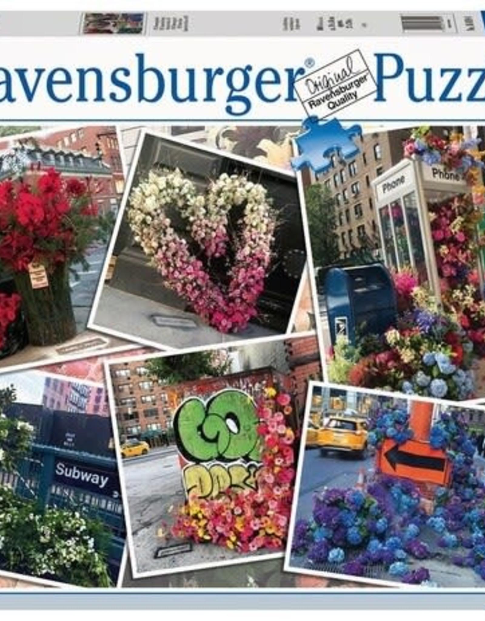 Ravensburger 1000pc NYC Flower Flash