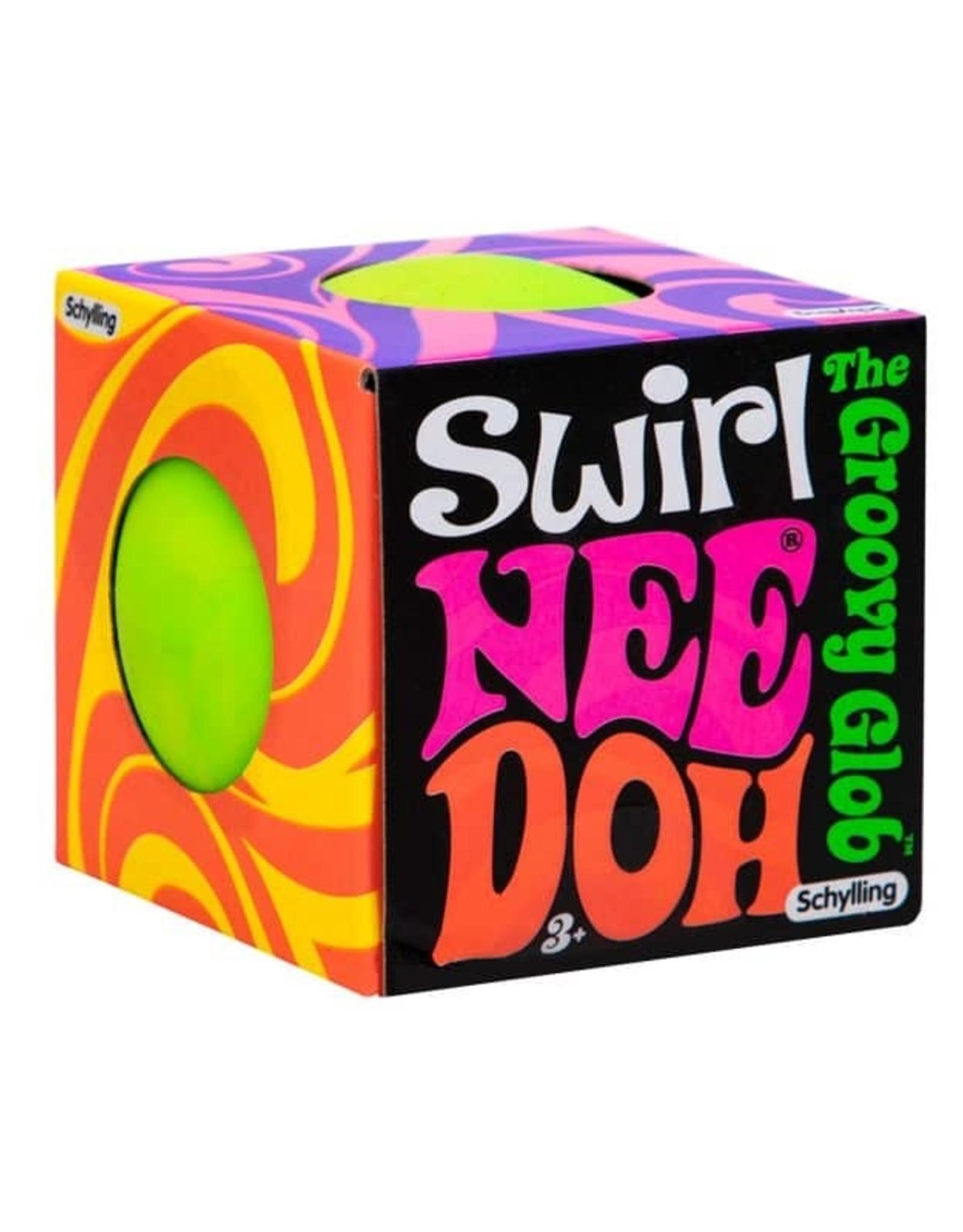 Schylling Nee Doh Color Swirl