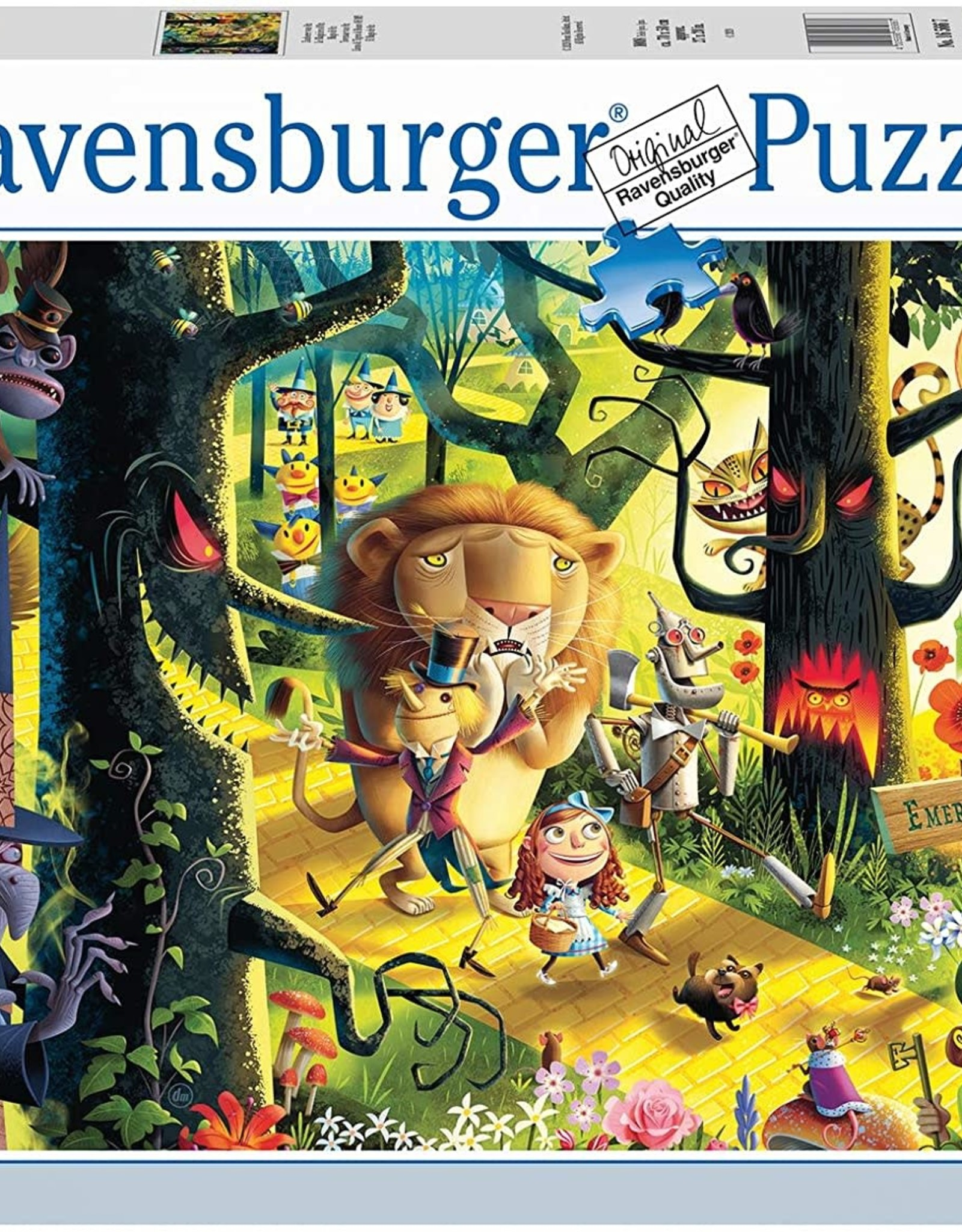Ravensburger 1000pc Lions Tigers and Bears Oh My!