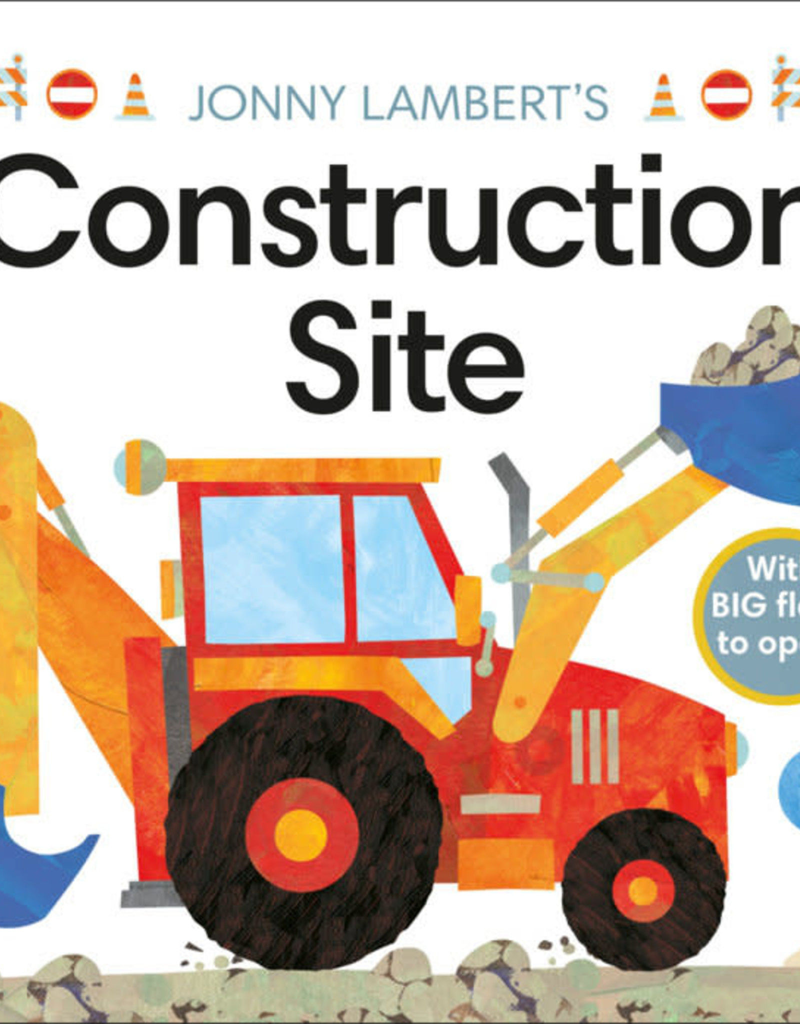 Penguin Random House Construction Site Flap Book