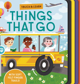 Penguin Random House Touch and Learn Things That Go