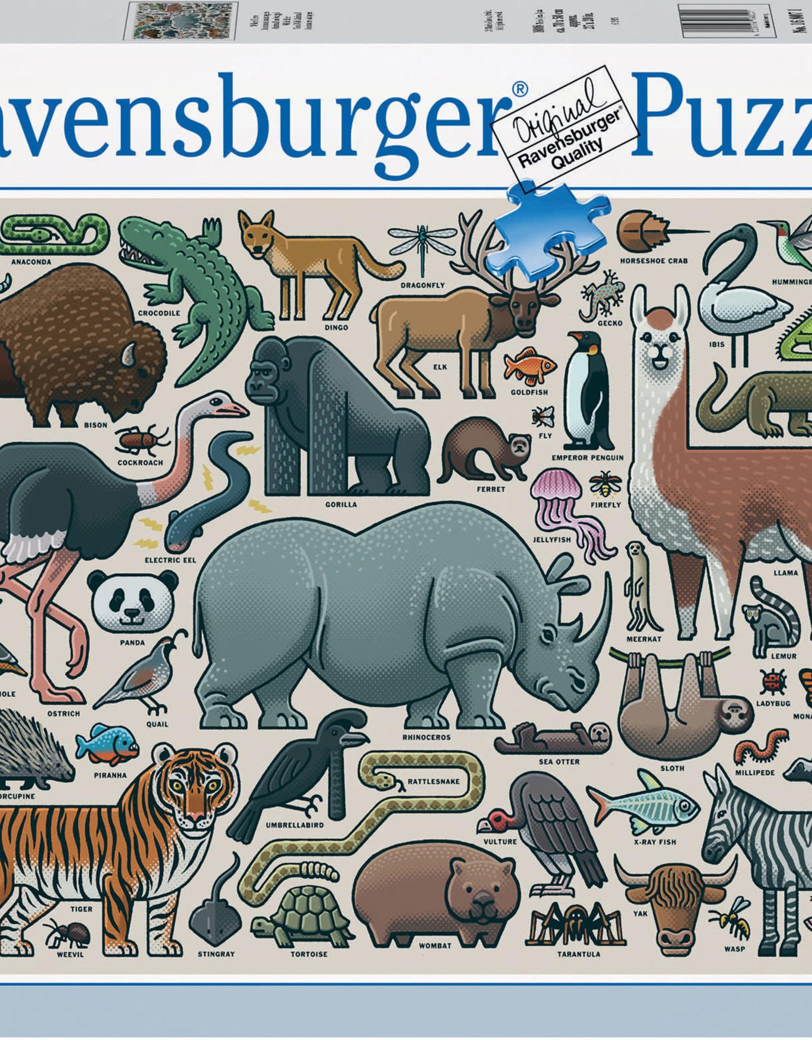 Ravensburger 1000pc You Wild Animal