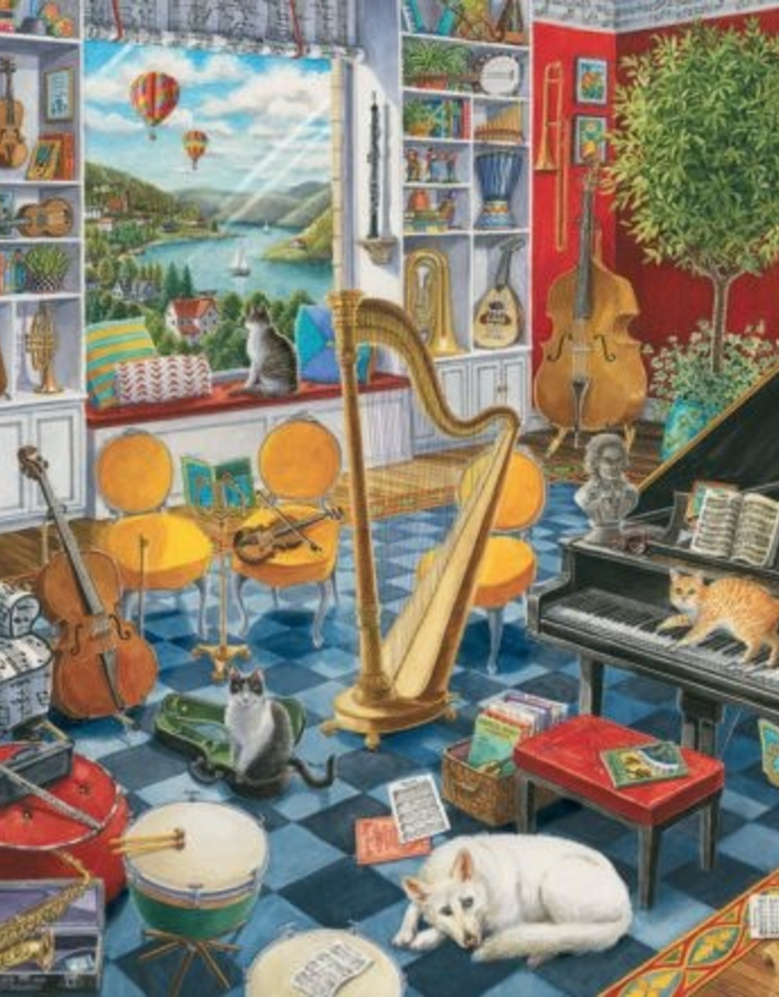 Ravensburger 500pc The Music Room