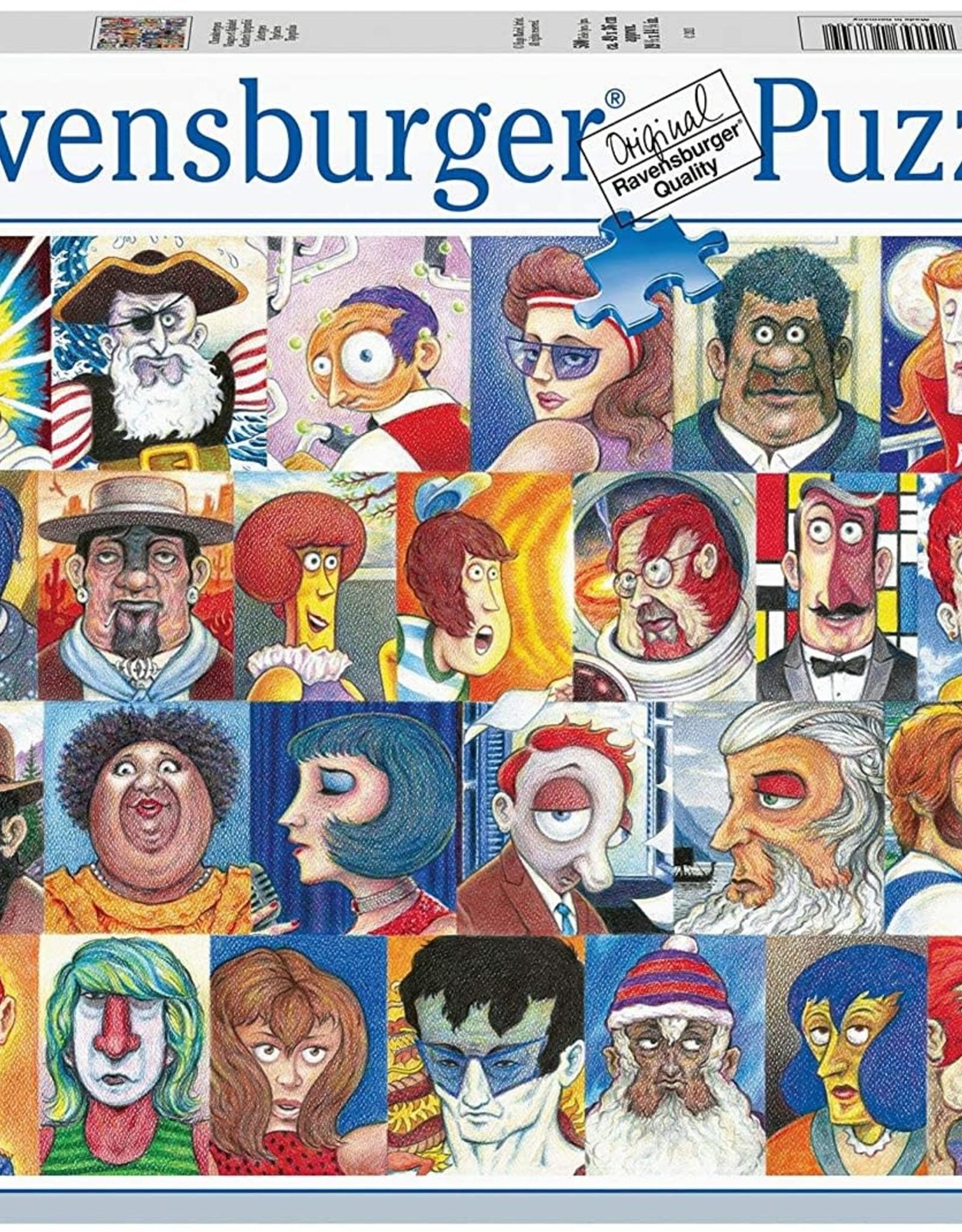 Ravensburger 500pc Typefaces