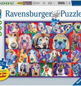 Ravensburger 500pc Hello Doggie LG