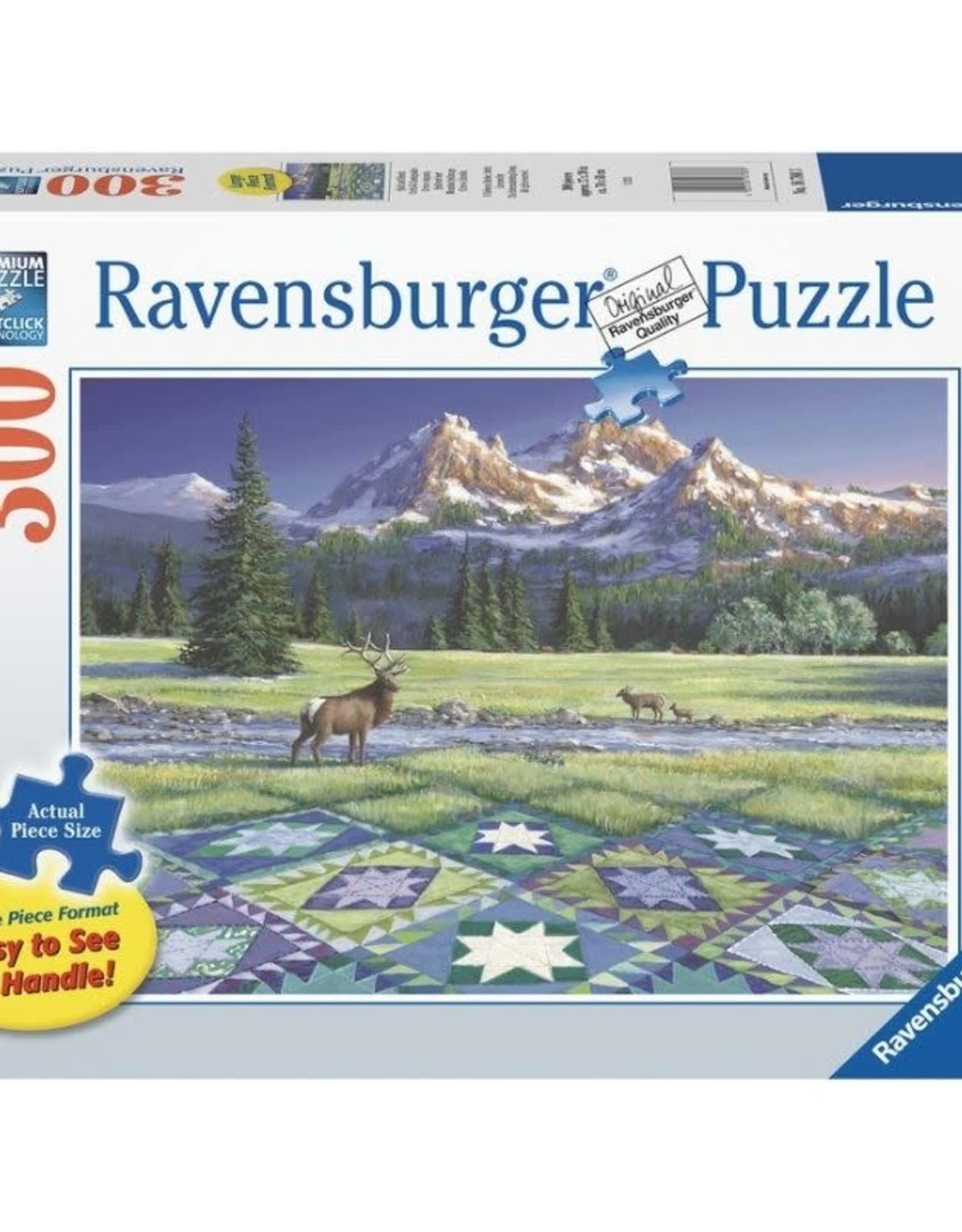 Ravensburger 300pc Mountain Quiltscape LG