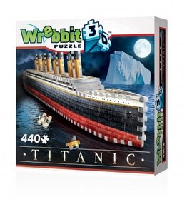 Wrebbit 440pc 3D Titanic