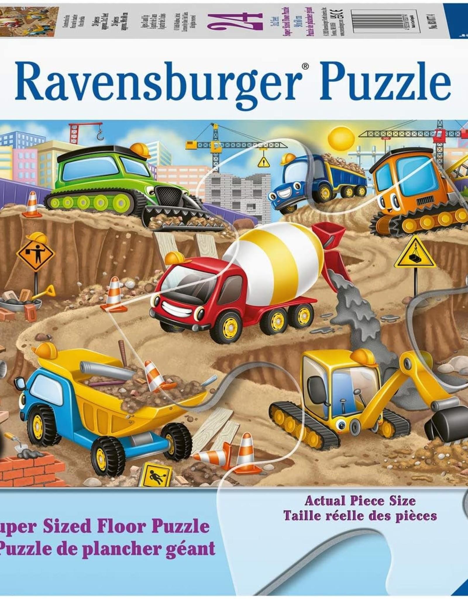 Ravensburger 24pc Floor Puzzle Construction Fun