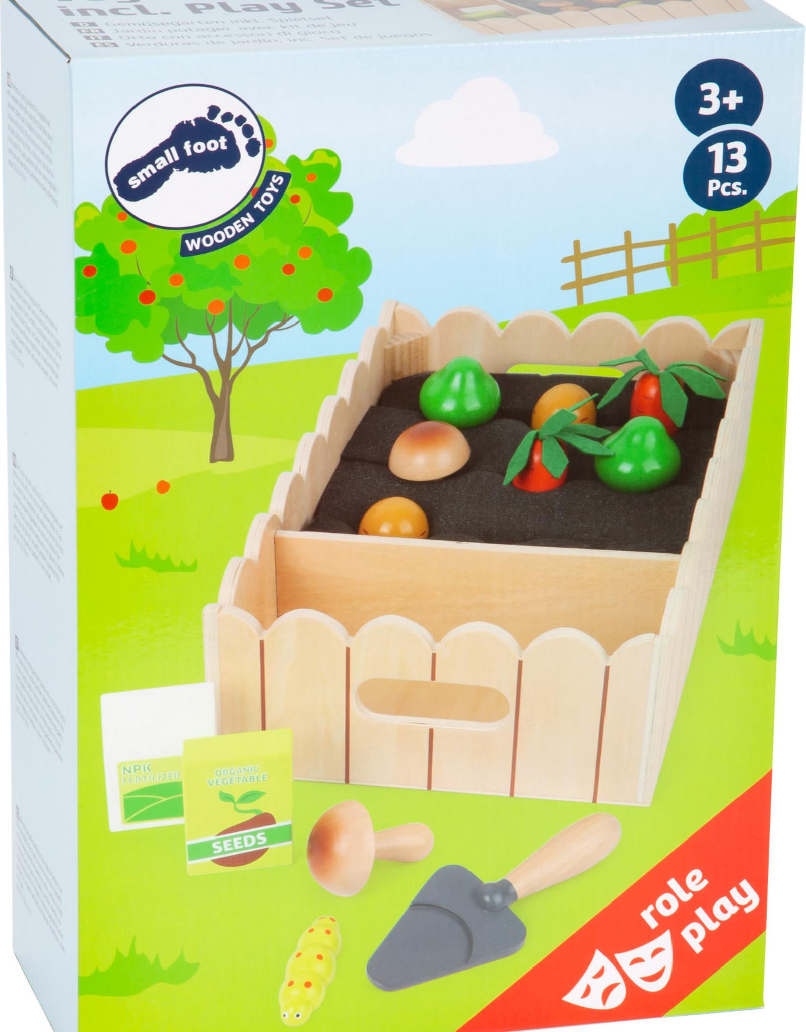 Small Foot Vegetable Garden Play Set
