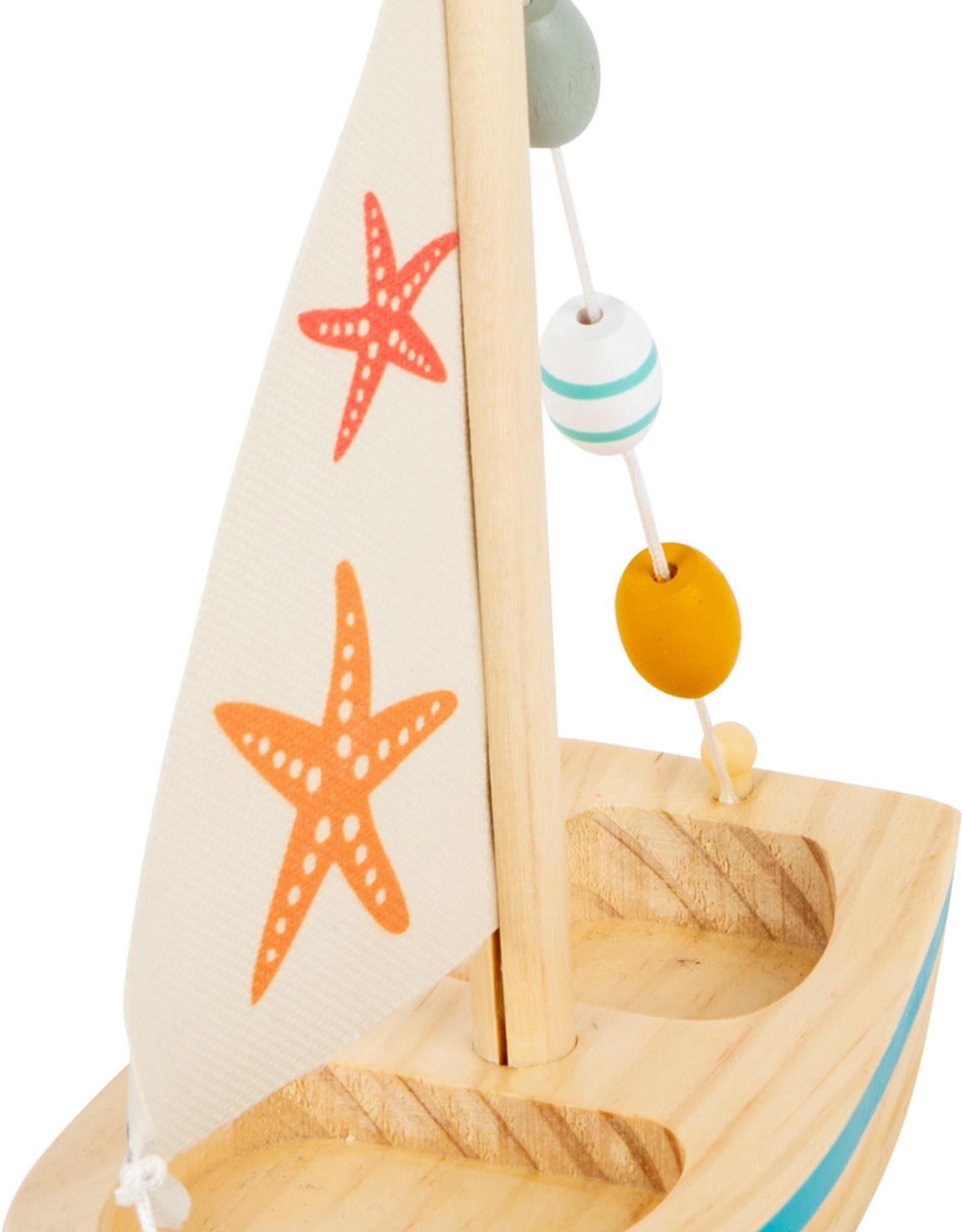 Small Foot Water Toy Sailboat Starfish