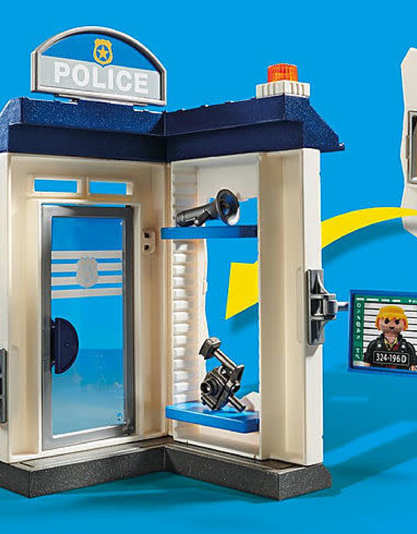 Playmobil PM Starter Pack Police Station