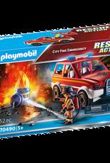 Playmobil PM City Fire Emergency
