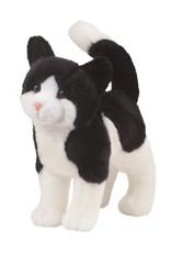 Douglas D Scooter Black & White Cat