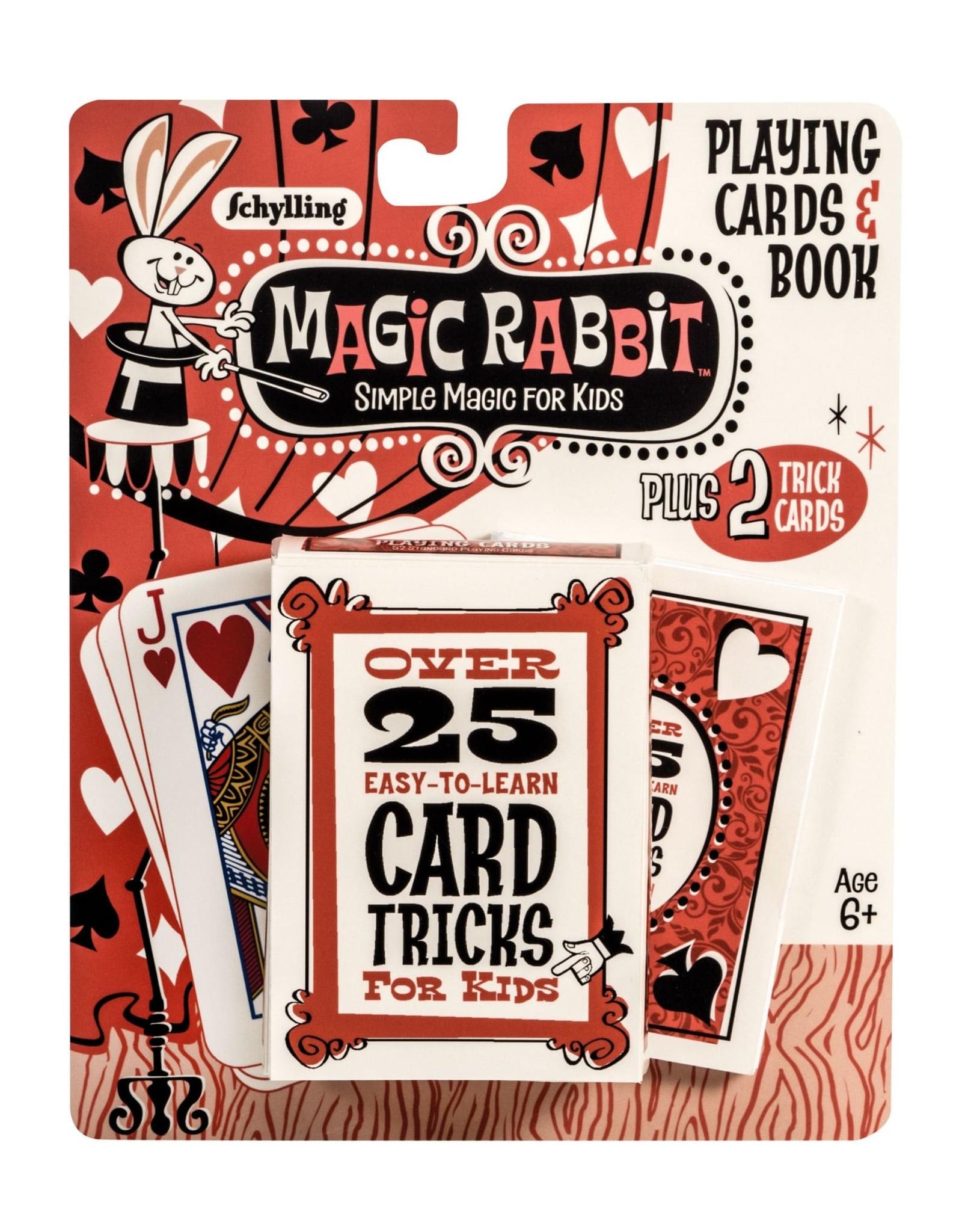 Schylling Magic Rabbit Card Tricks
