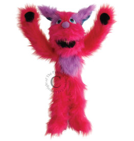 The Puppet Company Puppet Plush Monster Pink