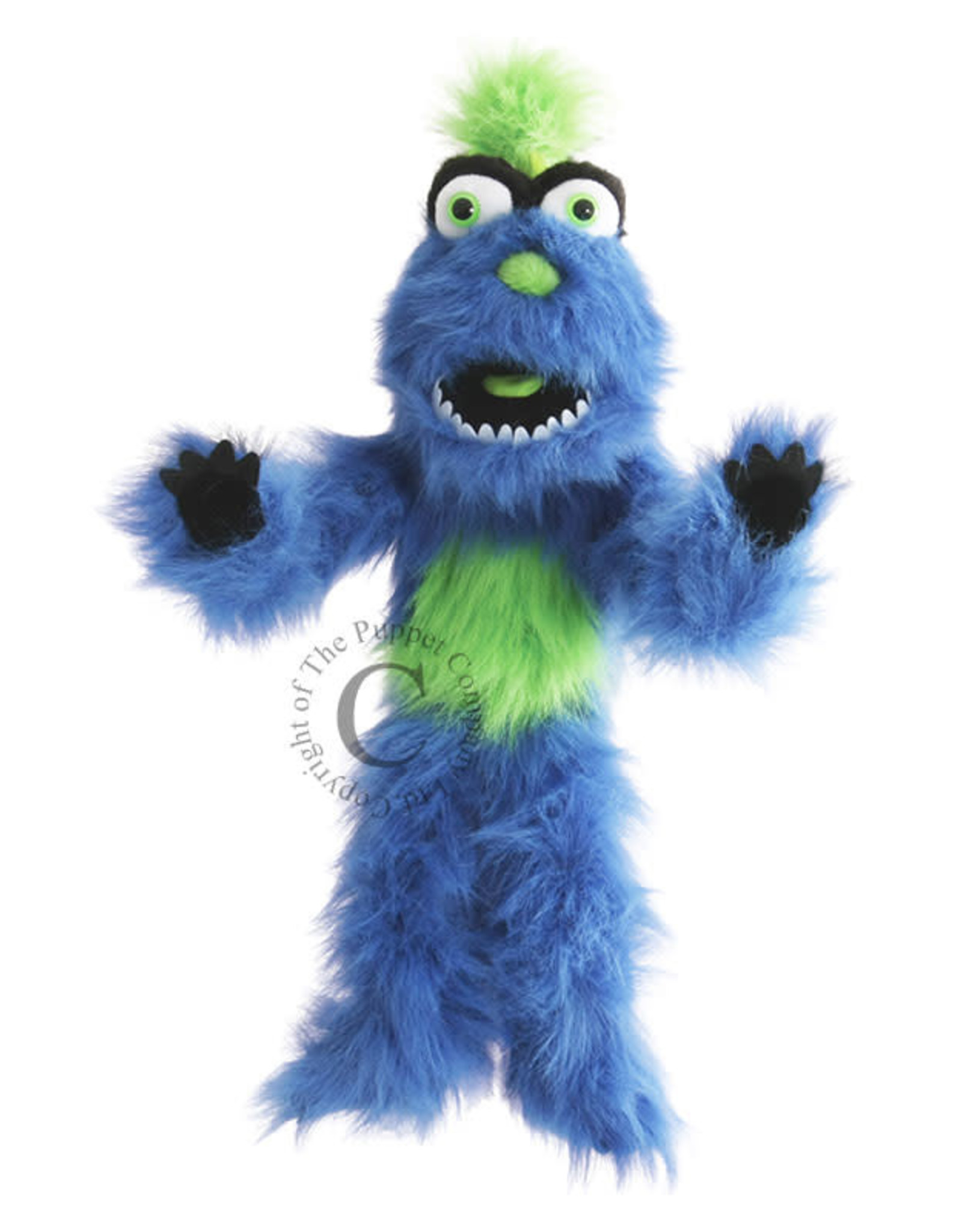 The Puppet Company Puppet Plush Monster Blue