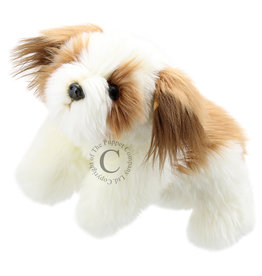 The Puppet Company Puppet Dog Full Body Brown & White