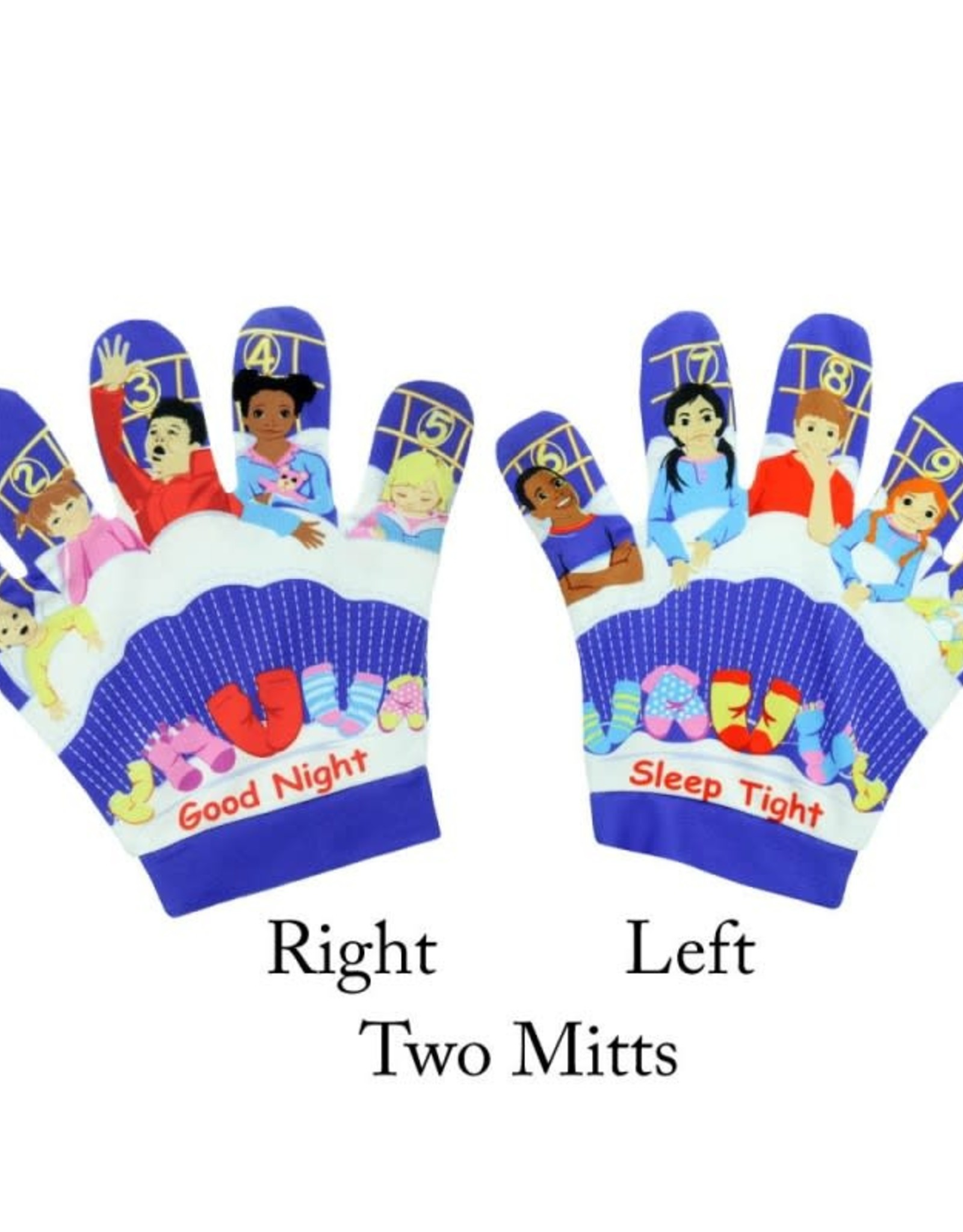 The Puppet Company Song Mitt Ten in a Bed (Two Mitts)