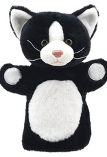The Puppet Company Puppet Buddy Cat Black & White