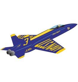 WindnSun Plane Kite Blue Angels