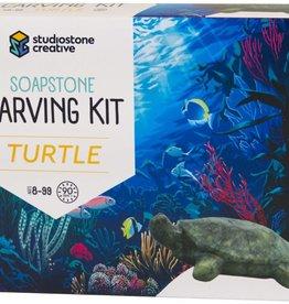 Studiostone Creative Soapstone Carving Kit Turtle