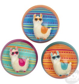 The Toy Network Hi-Bounce Ball Colorful Llama
