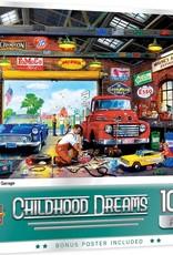 Master Pieces 1000pc Childhood Dreams - Wayne's Garage