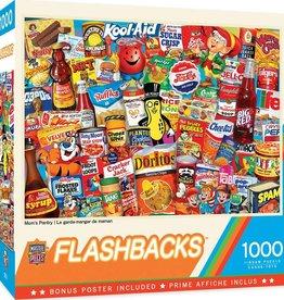 Master Pieces 1000pc Flashbacks - Mom's Pantry
