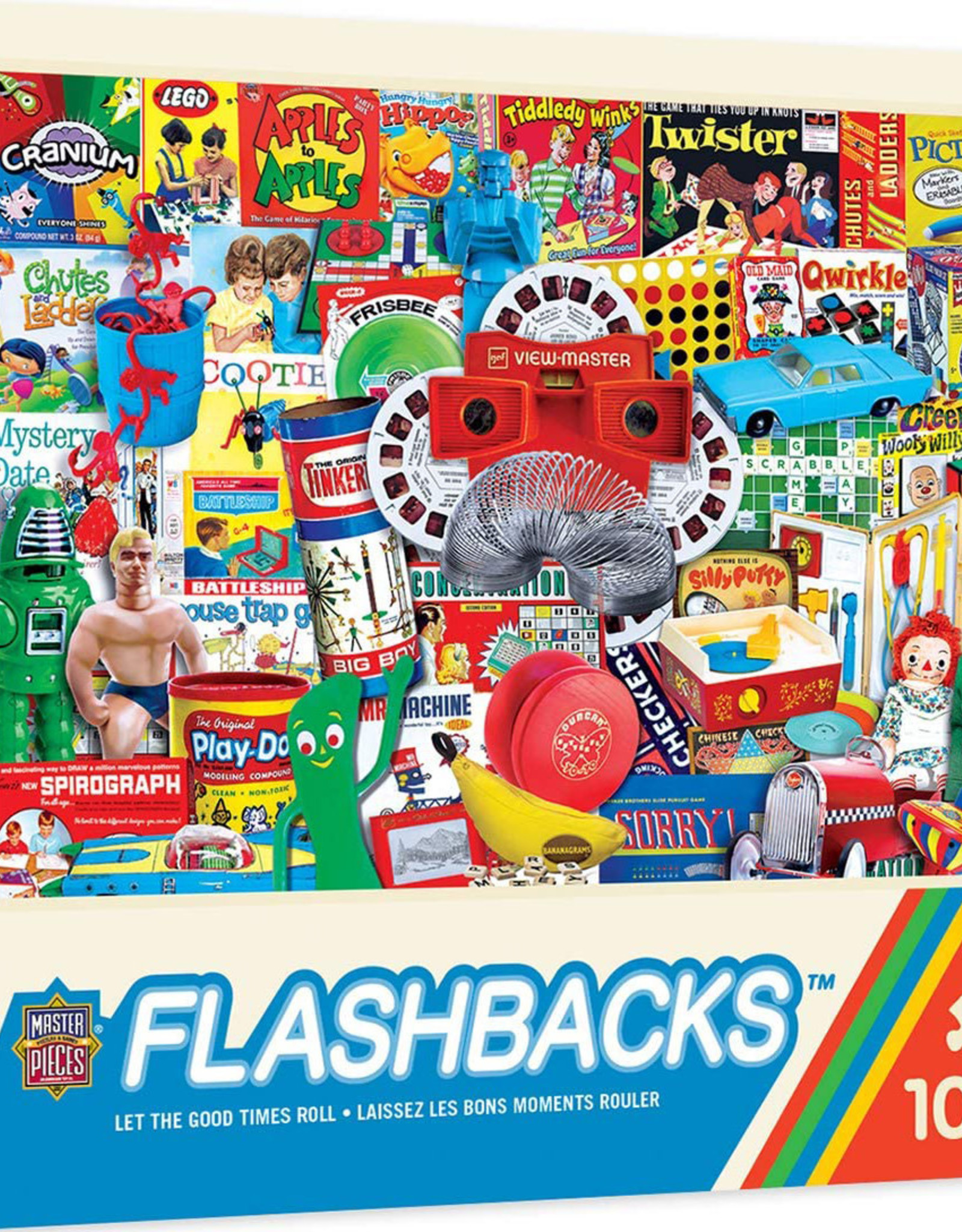 Master Pieces 1000pc Flashbacks - Let the Good Times Roll