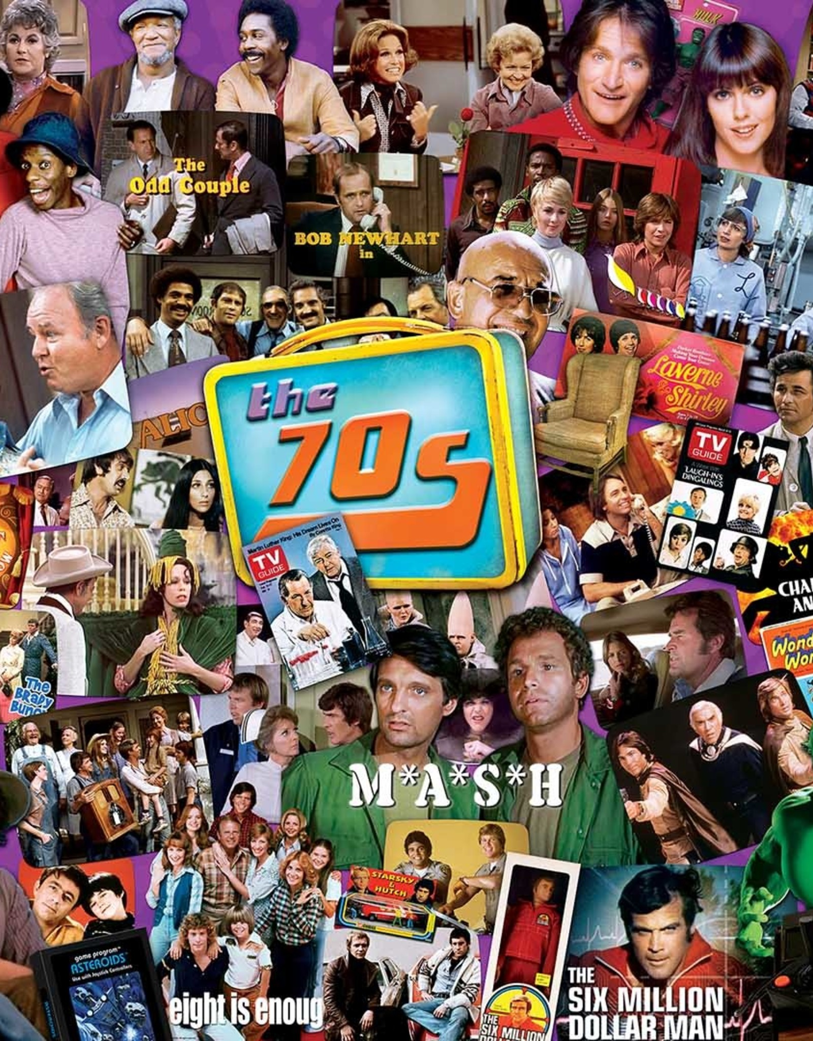 Master Pieces 1000pc TV Time - 70s Shows