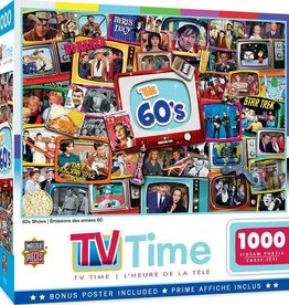 Master Pieces 1000pc TV Time - 60s Shows